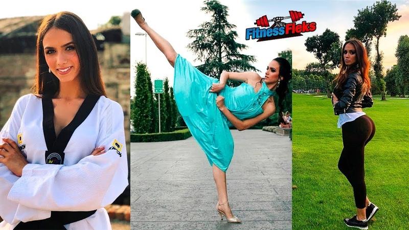 БОЕВАЯ КРАСАВИЦА и Мастер ТХЭКВОНДО - Sara Damjanovic - BEST Female Martial Arts 2018!!