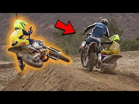 Dangerboy Takes Out Goon! Ride Day with Pros at Pala Raceway!