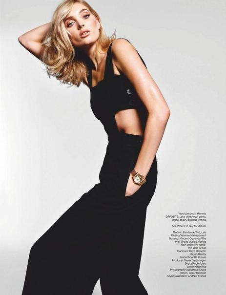 ELSA HOSK Harper's Bazaar Magazine, Singapore 12/2018