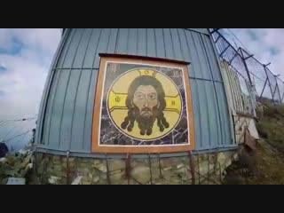 Икона Нерукотворного Образа Господа Иисуса Христа на вершине горы Бештау.