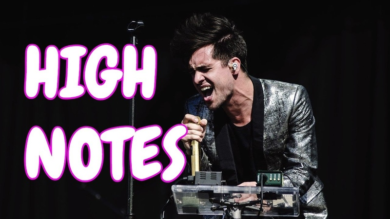 Brendon Urie's Iconic High Notes Compilation | Panic! At The Disco