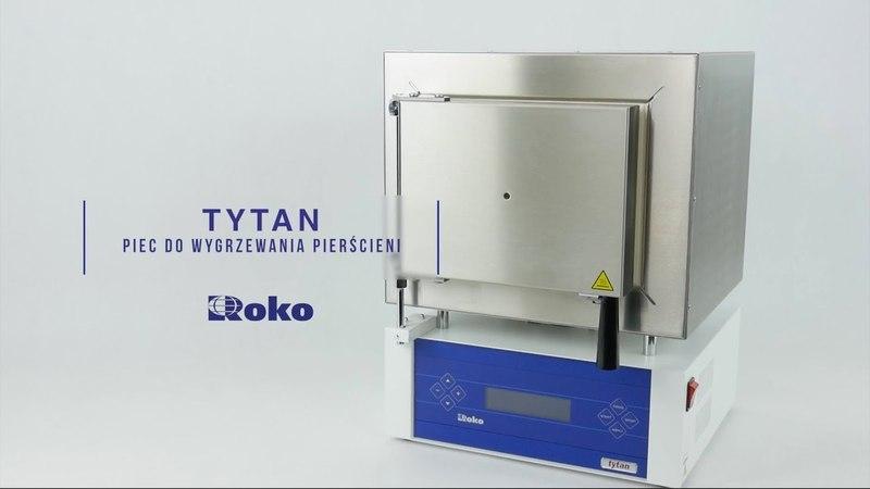 TYTAN MAX - Piec firmy ROKO do wygrzewania pierścieni