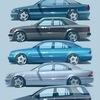 Mercedes of Japan W124 W210 W202 W163 W220