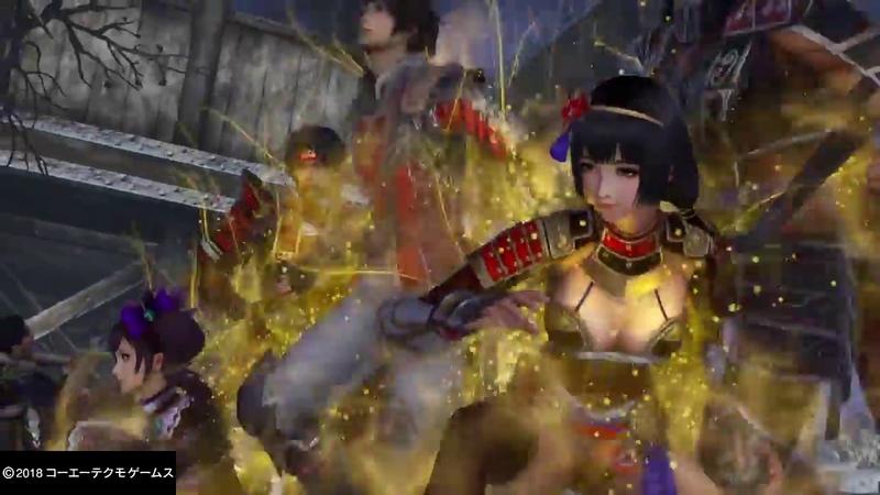 「無双OROCHI3」Co-Op Divine Art