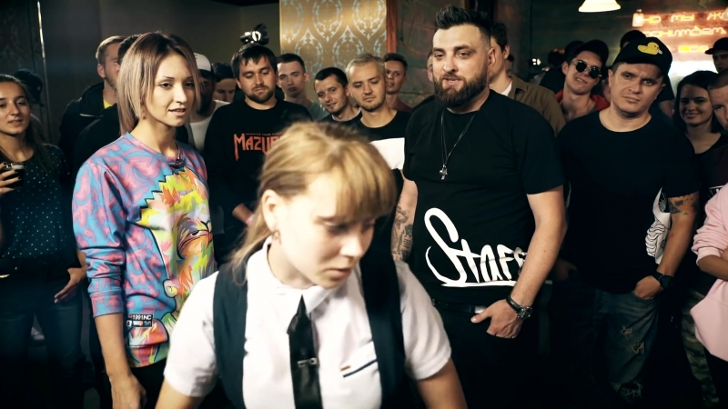 RapSoxBattle MC Анюта vs. MC Lina _⁄ Сезон 2