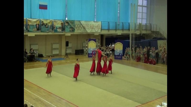 Команда женской эстетической гимнастики Кхалиси