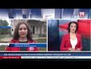 Прямое включение корреспондента телеканала Крым 24 Марии Красновицкой с избирательного участка в пгт Научный