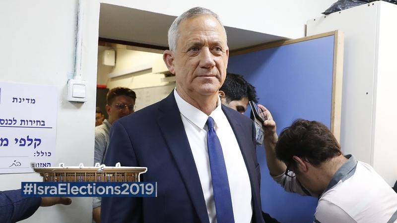 IsraElections2019 Exit Polls Show Gantz Leading
