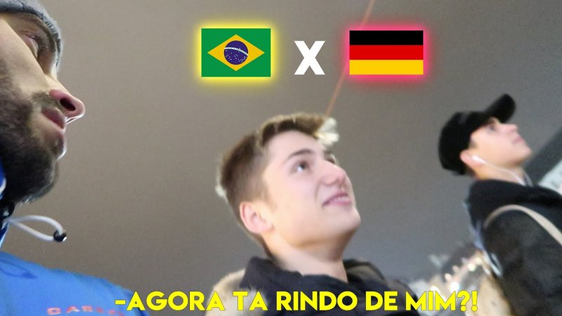 ALEMÃO DESTRATA BRASILEIRO NA ALEMANHA E SE DÁ MAL (treta) *preconceito*| MUNIQUE | *VIAGEM EUROPA*