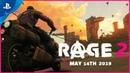 Rage 2 - Open World Trailer | PS4