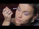 Яркий макияж в стиле Диско. Как сделать красивый макияж на вечер. Модный макияж.