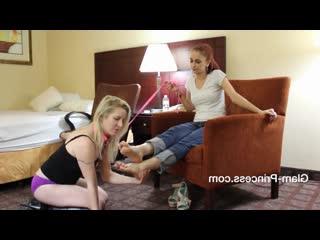 White girl feet | lesbian feet domination | danielle bregoli's foot slave!