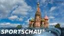 Unser Russland - Teil 1 der Reportage mit Palina Rojinski und Udo Lielischkies | Sportschau