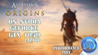 Assassin's Creed Origins on NVIDIA GeForce GTX 1050 (Laptop)