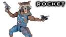 Marvel Legends ROCKET RACCOON KID GROOT Action Figure Toy Review