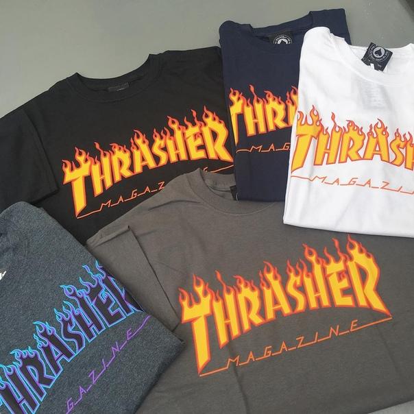 f09d75ecffd Thrasher одежда