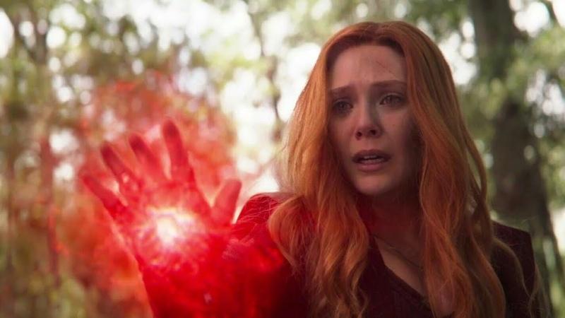 Scarlet Witch kills Vision Vision's death Wakanda team vs Thanos Avengers Infinity War