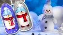 ⛄ Очаровательный Снеговик На Ногтях ⛄ Зимний Дизайн / Рисунок Гель-лаком / Зимний Маникюр Cosmoprofi