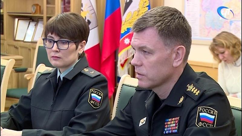 Главный судебный пристав России Дмитрий Аристов отметил работу новгородского ведомства
