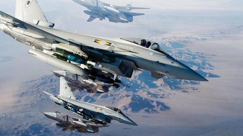 А был ли перехват? Минобороны о перехвате британскими ВВС российских Су-24