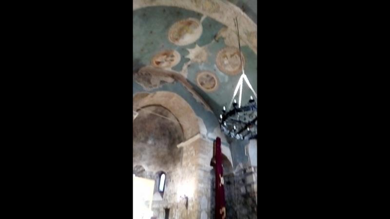 храм Святого Сергия (Сурб-Саркис) находится могила И. К Айвазовского.