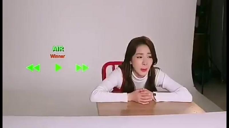 Dara used AIR as a bgm on her Dara TV I love supportive mom WINNER. 위너