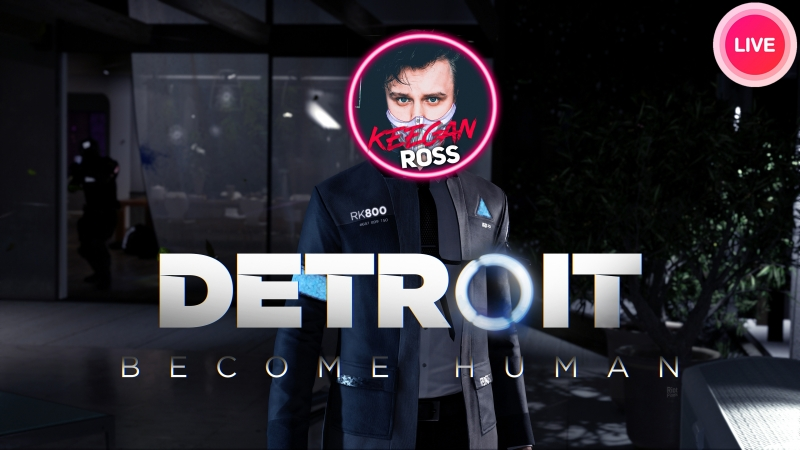 VKLIVE Keegan Project |Detroit Become Human Detroit Стать человеком 1