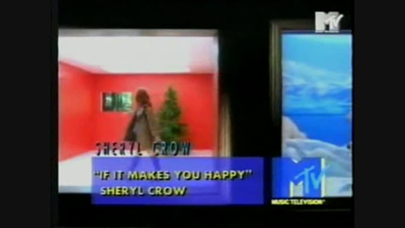 Sheryl crow - if it makes you happy mtv