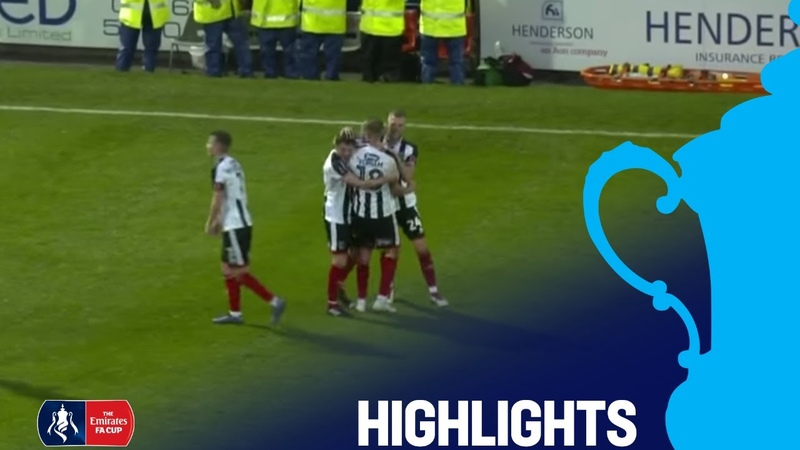 Grimsby Town 3:1 MK Dons | Round 1 | Emirates FA Cup 2018/19