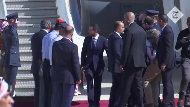 Иордания, 24 июня: прибытие в аэропорт Марка