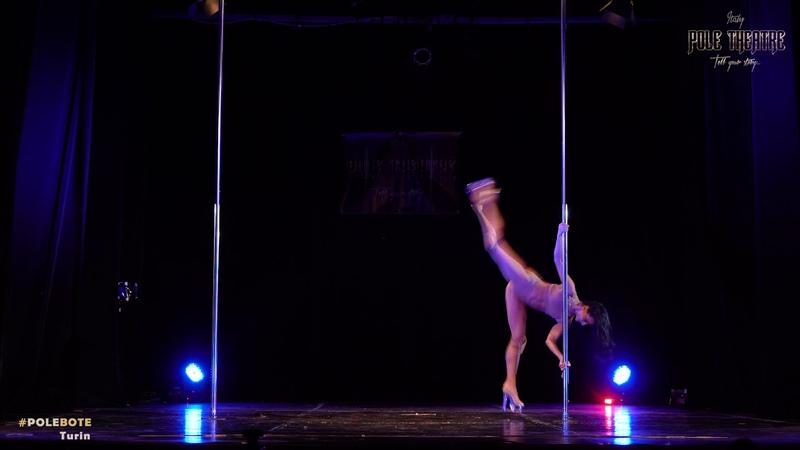 Masha Lu - Pole Thetre Italy - Pro classic, exotic pole dance, MashaLu