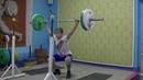 Маклаков Тимур 14 лет собст вес 54 Рывок с виса Ух всед Пр