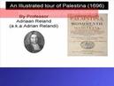 Adriani Relandi Visit to Palestine 1699
