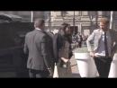 прибытие Гарри и Меган на прием делегатов молодежного форума