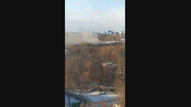 Пожар в Солнечном (11.11.2018)