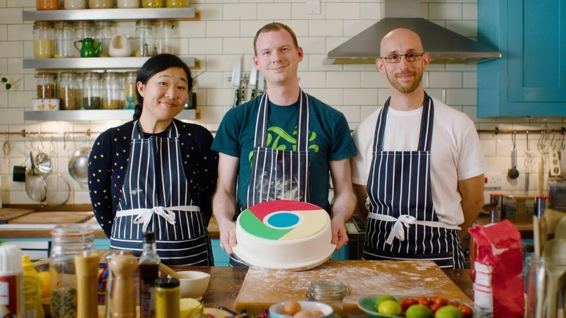 Baking the Web Celebrating 10 Years of Chrome, with Mariko, Paul, and Jake || Google Chrome Developers
