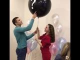 Как рассказать близким о поле будущего ребенка? С помощью воздушного шара!