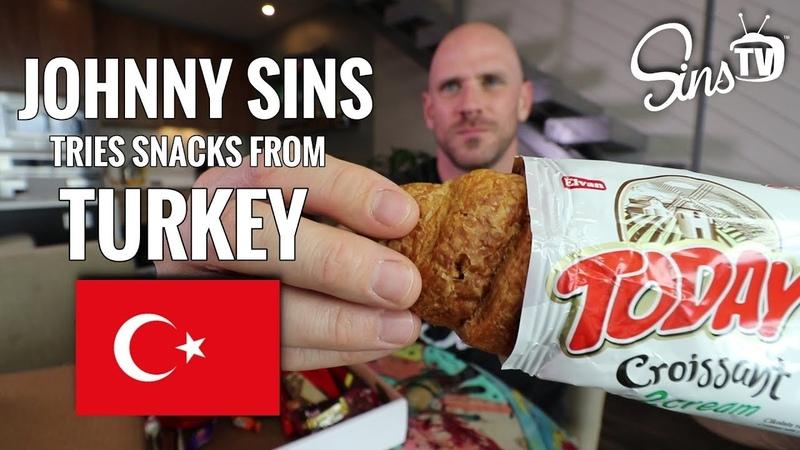 Tasting Snacks from Turkey Johnny Sins Vlog 63 SinsTV