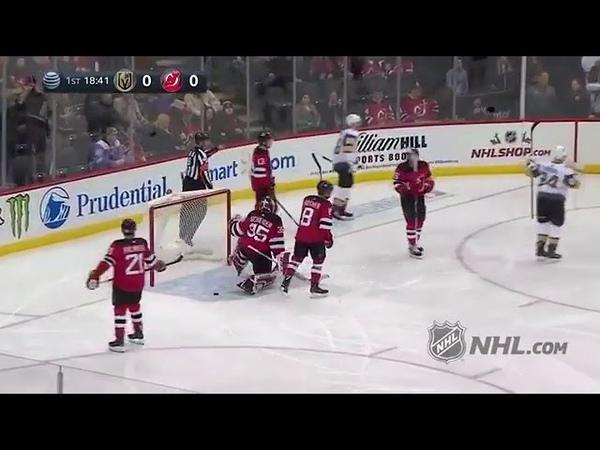 Wonderful Goal scores Alex Tuch! (New Jersey Devils vs. Las Vegas Golden Knights 15.12.18)