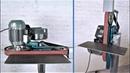 Homemade Multifunctional Adjustable Belt Sander Grinder
