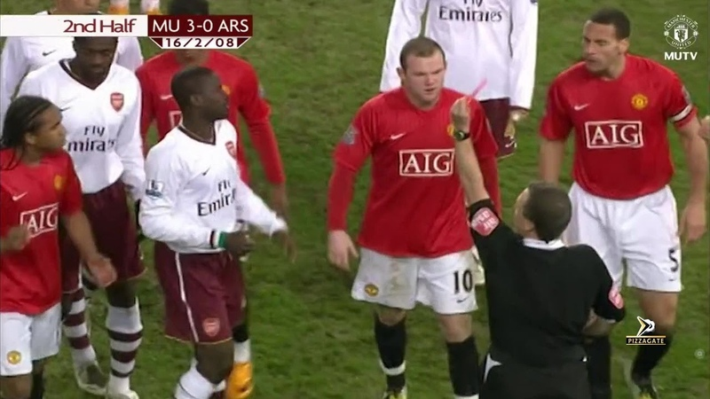 Manchester United 4 0 Arsenal FA Cup 2007 2008 50fps