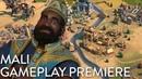 Civilization VI Gathering Storm - Mali Gameplay Premiere Dev Livestream