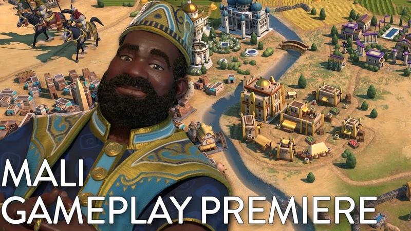 Civilization VI Gathering Storm - Mali Gameplay Premiere (Dev Livestream)
