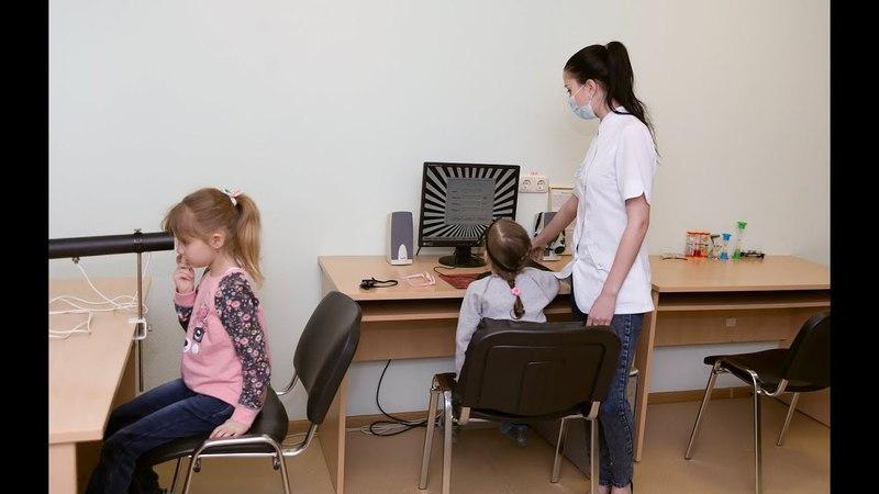 Прием детского врача офтальмолога