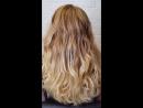 Окраска волос укладка