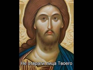 НЕ ОТВРАТИ ЛИЦА ТВОЕГО ОТ ОТРОКА ТВОЕГО с исоном. Поёт хор братии Валаамского монастыря