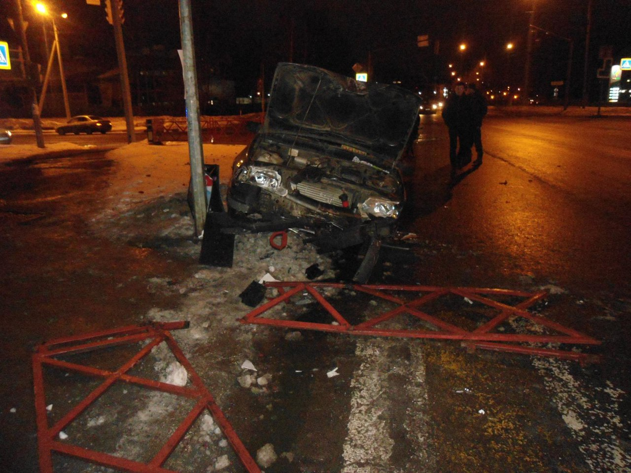 20 марта в 22.45 на проспекте Фрунзе произошло ДТП.