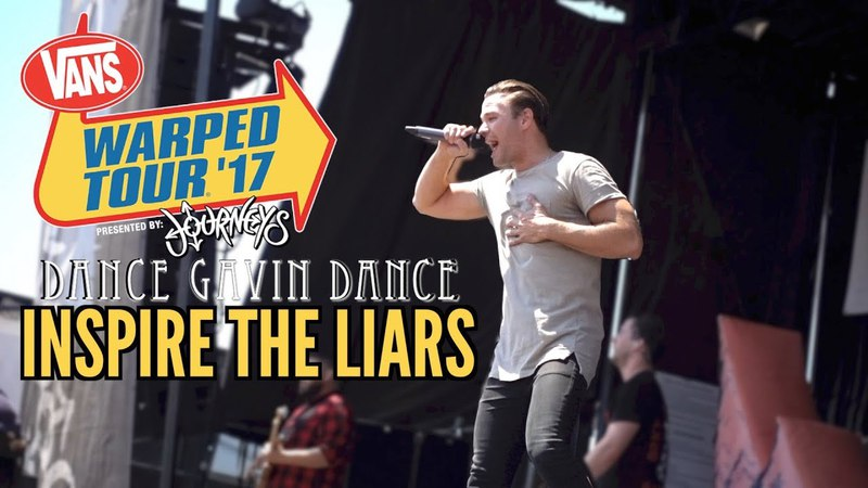 Dance Gavin Dance - Inspire The Liars (LIVE at Vans Warped Tour 2017)