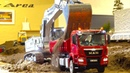 BEST OF RC TRUCK ACTION MEETINGS! RC CONSTRUCTION-SITE! MAN! MB ACTROS! SCANIA! VOLVO! LIEBHERR