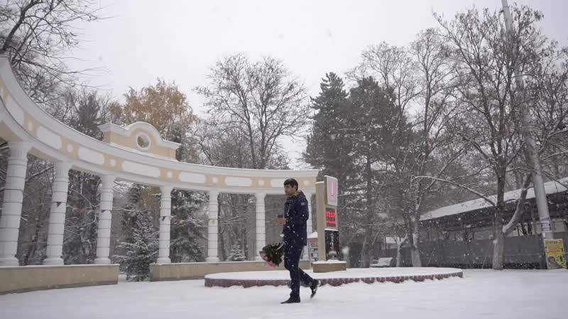 Первый снег в Черкесске
